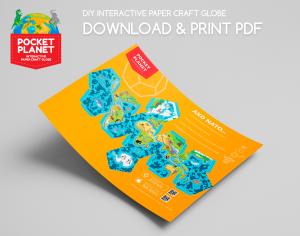 Print pocket planet